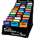 Mealtickets display