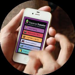 Traverse Traveler app