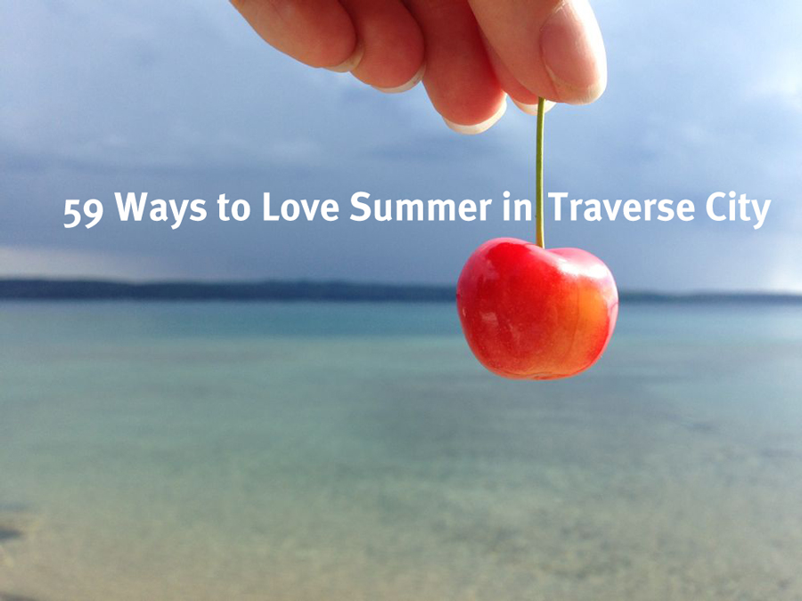 Summer, Traverse City, Cherry