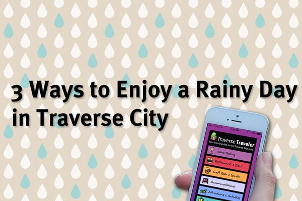Rainy Day in Traverse City