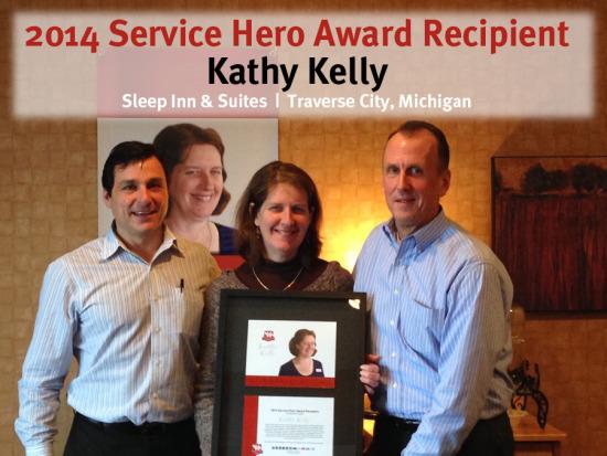 Choice Hotels Community Hero Recipient