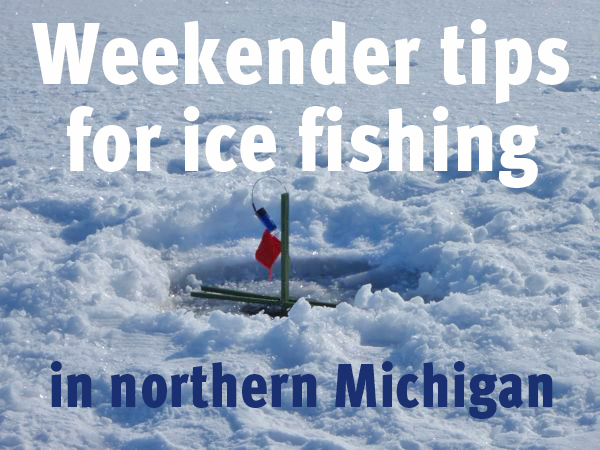 Ice Fishing Michigan