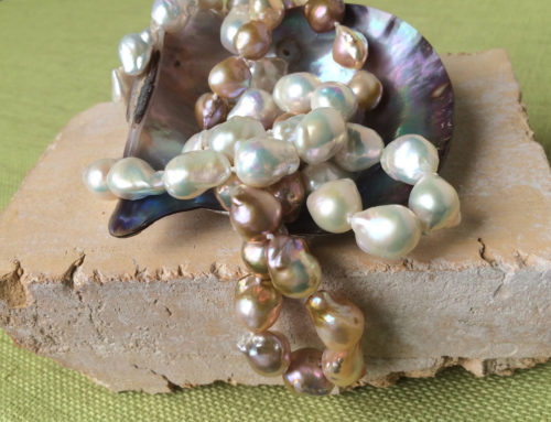 Chocolate and Pearls at Becky Thatcher Designs