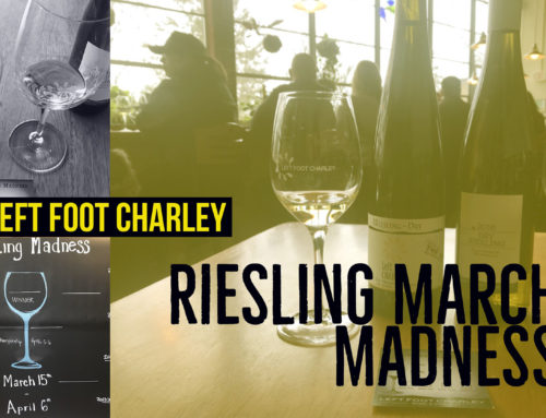 Left Foot Charley Hosts Riesling March Madness