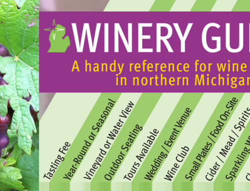 Northern Michigan Winery Guide (Infographic)