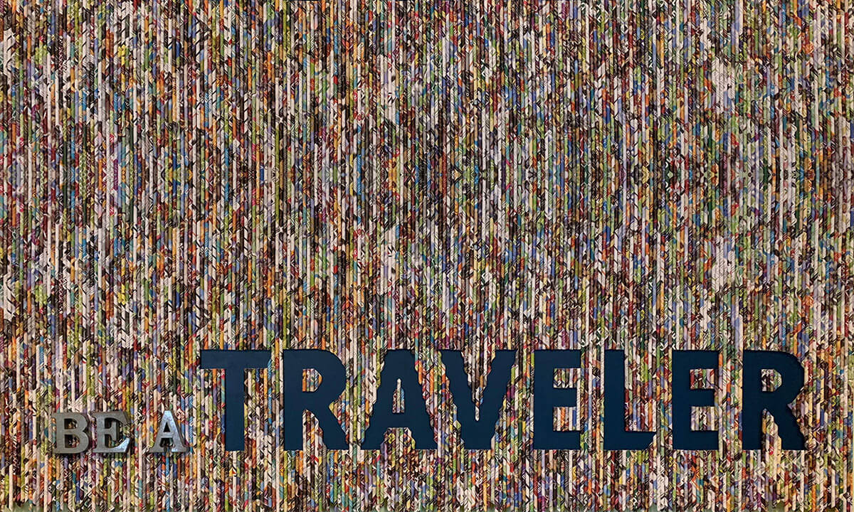 Be A Traveler art